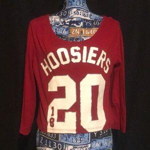 Indiana University (IU) Hoosiers Crop Top